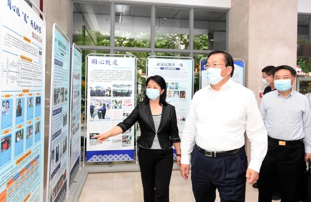 王忠林走访调研市各民主党派及公检法系统